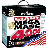 Гейнеры Weider Mega mass 4000 7000 г  ваниль