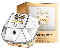 Женская парфюмированная вода Paco Rabanne Lady Million Lucky, 80 мл, фото 1