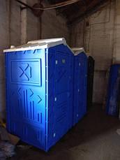 Туалетная кабина для дачи с  раковиной и умывальником, фото 2