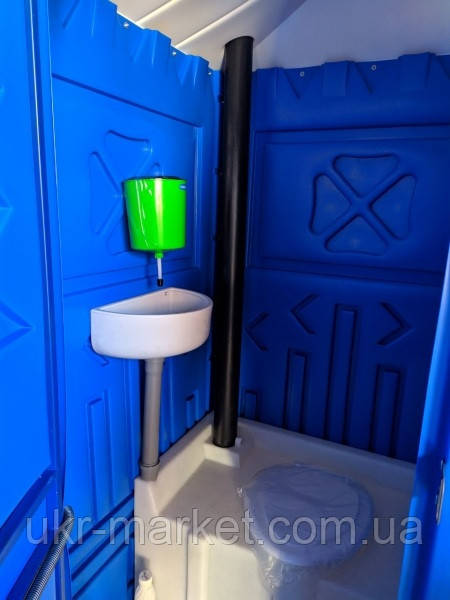 Туалетная кабина биотуалет + раковина и умывальник по акции от четырех единиц
