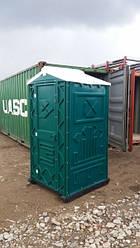 Туалетная кабина (биотуалет) зеленый