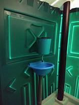 Туалетная кабина (биотуалет) + раковина и умывальник, фото 3
