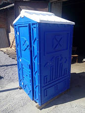Биотуалет кабина  для дачи под выгребную яму, фото 3