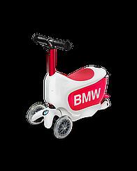 Самокат Mini Micro 2go BMW White/Raspberry Red