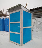 Биотуалет утеплённые, туалетная кабина уличная