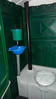 Туалетная кабина (биотуалет) + раковина и умывальник от 4х единиц