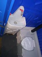 Биотуалет кабина с умывальником и помпой