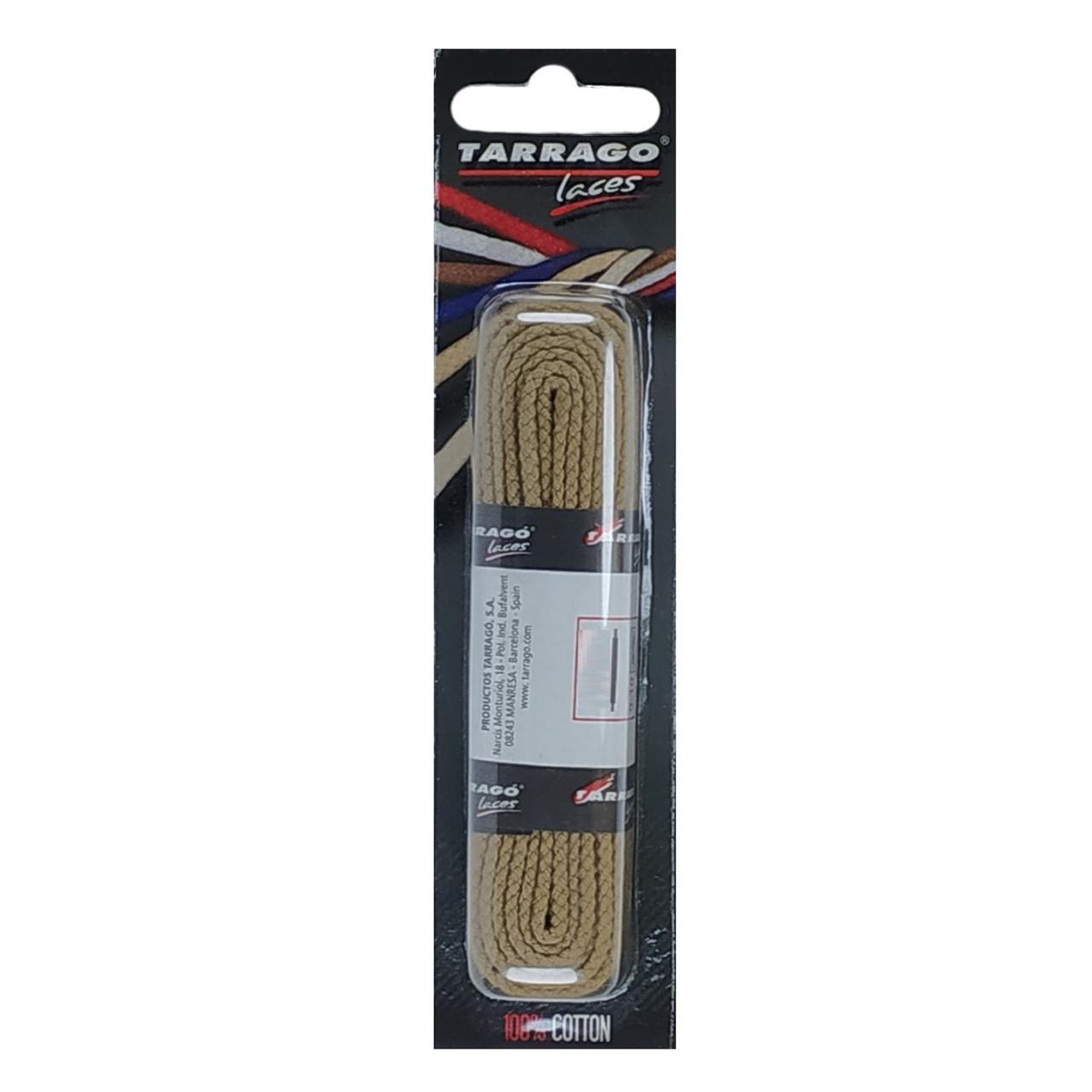 Шнурки Tarrago / плоские / бежевые 120 см