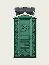 Пластиковая душевая кабина уличная