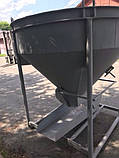 Бункер для бетона конусный БН- 1.25 (куб.м), фото 4