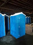 Туалетна кабіна + раковина і умивальник, фото 3