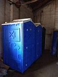 Туалетная кабина с раковиной и умывальником, фото 4
