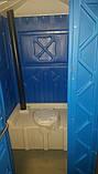 Туалетная кабина с раковиной и умывальником, фото 8