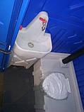 Туалетная кабина с раковиной и умывальником, фото 10