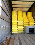 Смiттєскидач 36 (м), будівельний рукав для сміття, фото 5