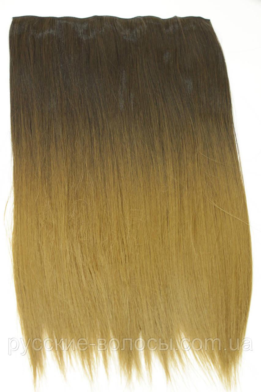 Искусственные волосы омбре на заколках