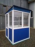 Пост охраны «Аквариум» 150 х 150 (см) с антивандальным покрытием, фото 2