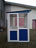 Пост охраны «Аквариум» 150 х 150 (см) с антивандальным покрытием, фото 4