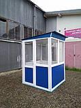 Пост охраны «Аквариум» 150 х 150 (см) с антивандальным покрытием, фото 8