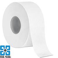 """Туалетная бумага """"Джамбо"""" БЕЛАЯ двухслойная ∅=19"""