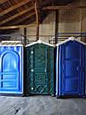 Туалетная кабина биотуалет с раковиной и умывальником, фото 7