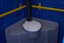 Мобильная туалетная кабина для инвалидов, фото 5