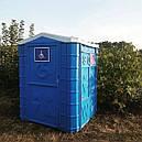 Мобильная туалетная кабина для инвалидов, фото 7
