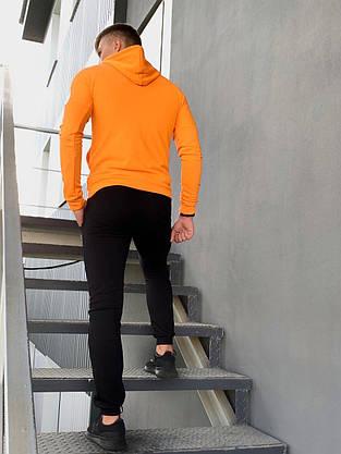 Костюм мужской спортивный Cosmo Intruder оранжевый черный Кофта толстовка + штаны + Подарок, фото 3