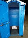Биотуалет кабина с чашей Генуя, фото 5