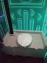Туалетная кабина биотуалет зеленый + жидкость для туалета, фото 6