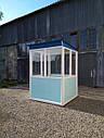 Пост охраны «Аквариум» 150 х 150 (см) с освещением, фото 5