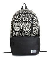 Рюкзак женский, городской, школьный с узорами.
