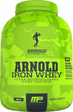 Протеин Сывороточный MusclePharm Iron whey arnold series 908 г