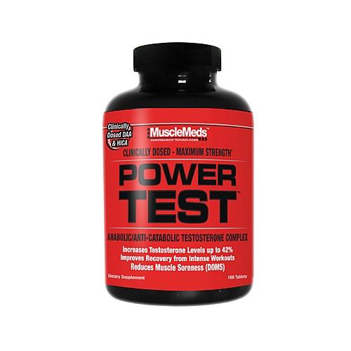 Анаболические комплексы MuscleMeds Power test 168 таб