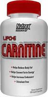 Карнитин, L-карнитин, L-Carnitine Nutrex Lipo-6 carnitine 120 капс