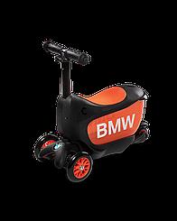 Самокат Mini Micro 2go BMW Black/Orange