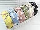 Обручі Чалма основа пластик/текстиль 6 шт/уп., фото 2