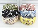 Обручі Чалма основа пластик/текстиль 6 шт/уп., фото 3