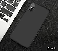 Чехол силиконовый для Xiaomi Redmi 9a Black (сяоми ксиоми редми 9а)