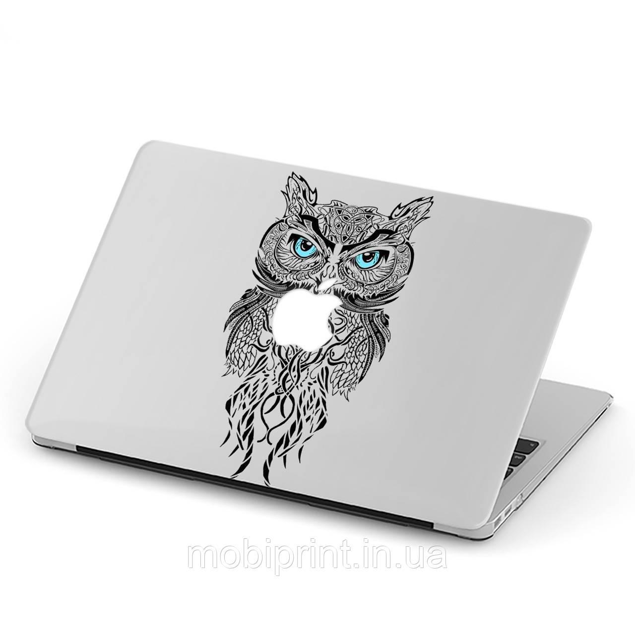 Чехол пластиковый для Apple MacBook Pro / Air Сова (Owl) макбук про case hard cover