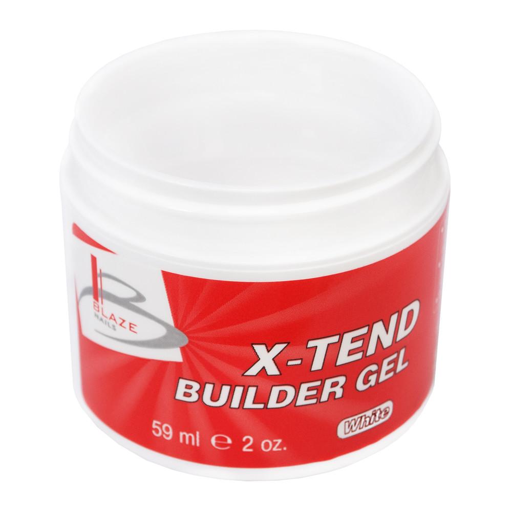 BLAZE X-Tend Builder Gel White уф гель конструирующий средний 59 мл