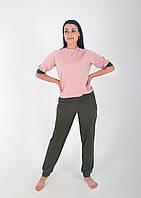 Женский домашний  прогулочный костюм из двухнитки, фото 1