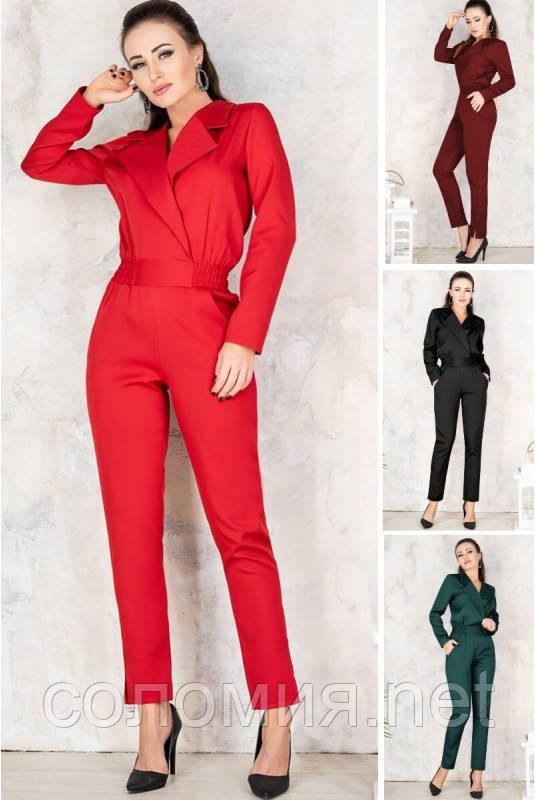 Элегантный женский комбинезон с брюками 42-70р