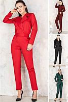 Элегантный женский комбинезон с брюками 42-70р, фото 1