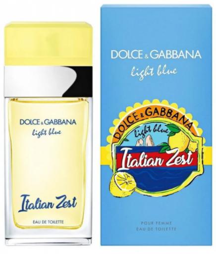 Женская парфюмированная вода Dolce Gabbana Light Blue Italian Zest,100 мл