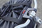 Велосипедна сумка на клік ємністю 20 л, чорний, фото 7