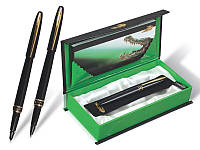 """Ручка капилярная """"Crocodile"""" 215 (1шт/уп) в подарочной упаковке black"""