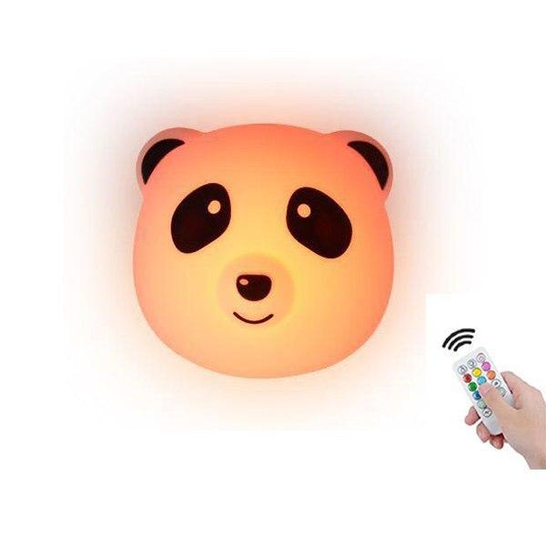 """Детский силиконовый ночник """"Пандочка"""" с пультом 3DTOYSLAMP"""