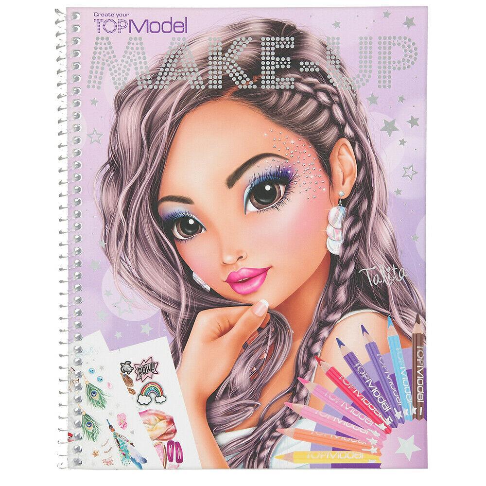 TOP Model Альбом Мейкап ( ТОП Модел Альбом для раскрашивания Макияж Top Model Make-Up 10728_B )