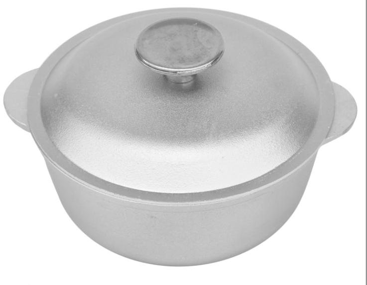 Казан алюминиевый литой Биол 1 л К0100